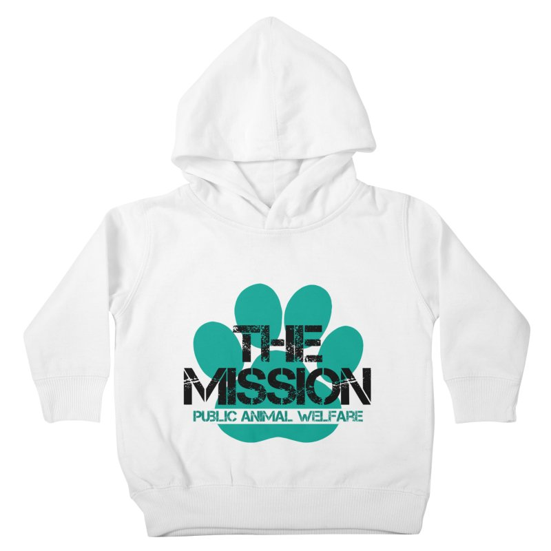 PAW Logo Kids Toddler Pullover Hoody by The PAW Mission