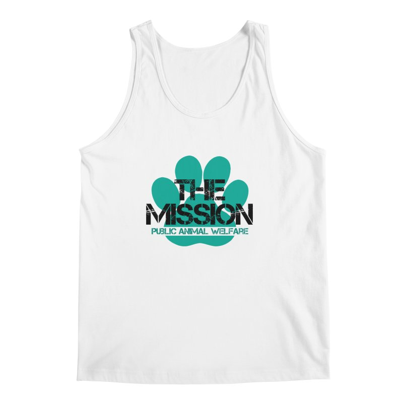 PAW Logo Men's Regular Tank by The PAW Mission