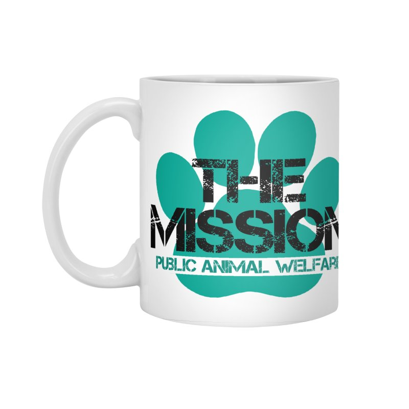 PAW Logo Accessories Standard Mug by The PAW Mission