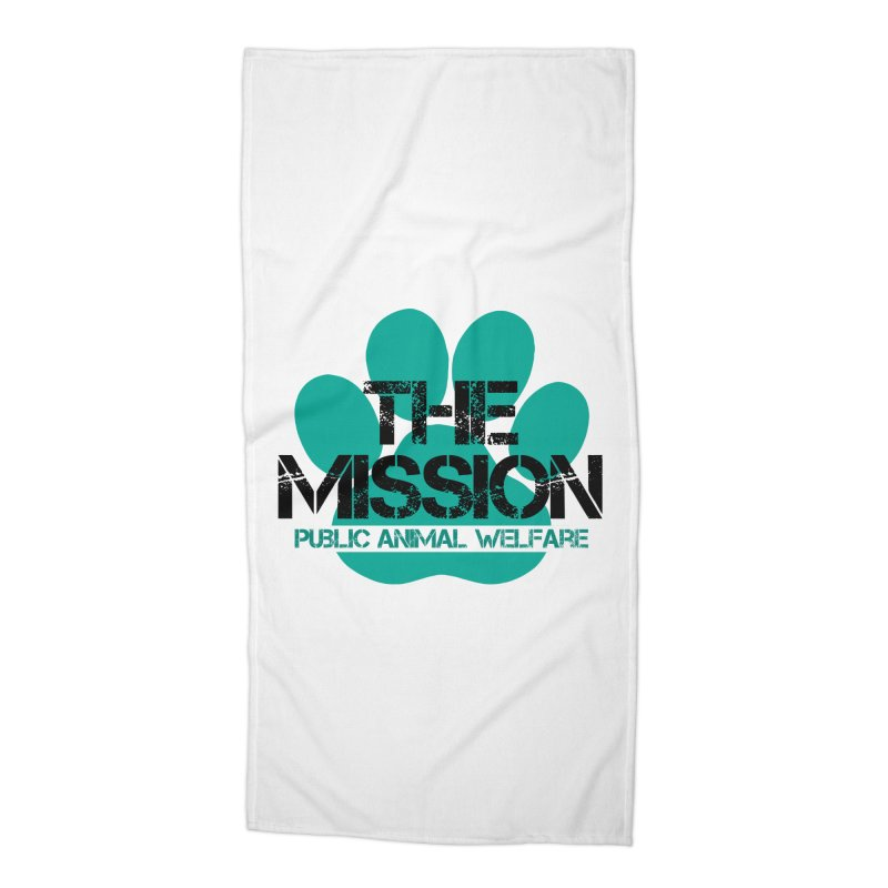 PAW Logo Accessories Beach Towel by The PAW Mission