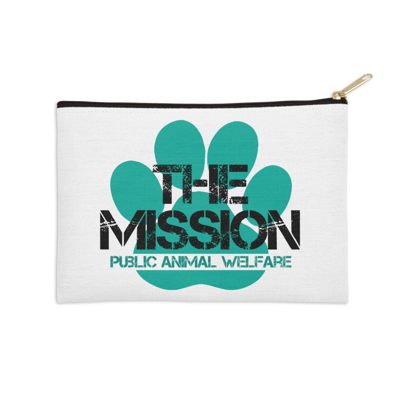 PAW Logo Accessories Zip Pouch by The PAW Mission