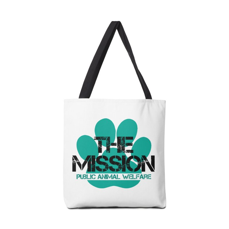 PAW Logo Accessories Tote Bag Bag by The PAW Mission