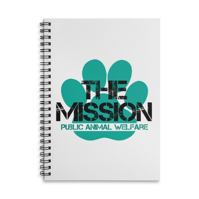 PAW Logo Accessories Notebook by The PAW Mission