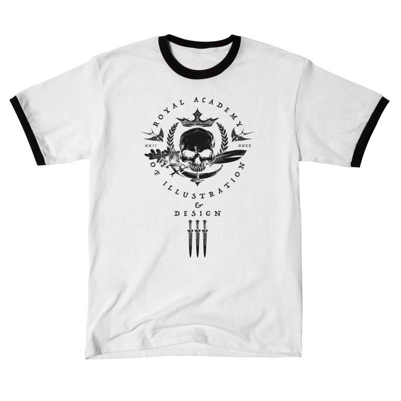 RAID 18th Anniversary / white Men's T-Shirt by THE RAID STUDIO