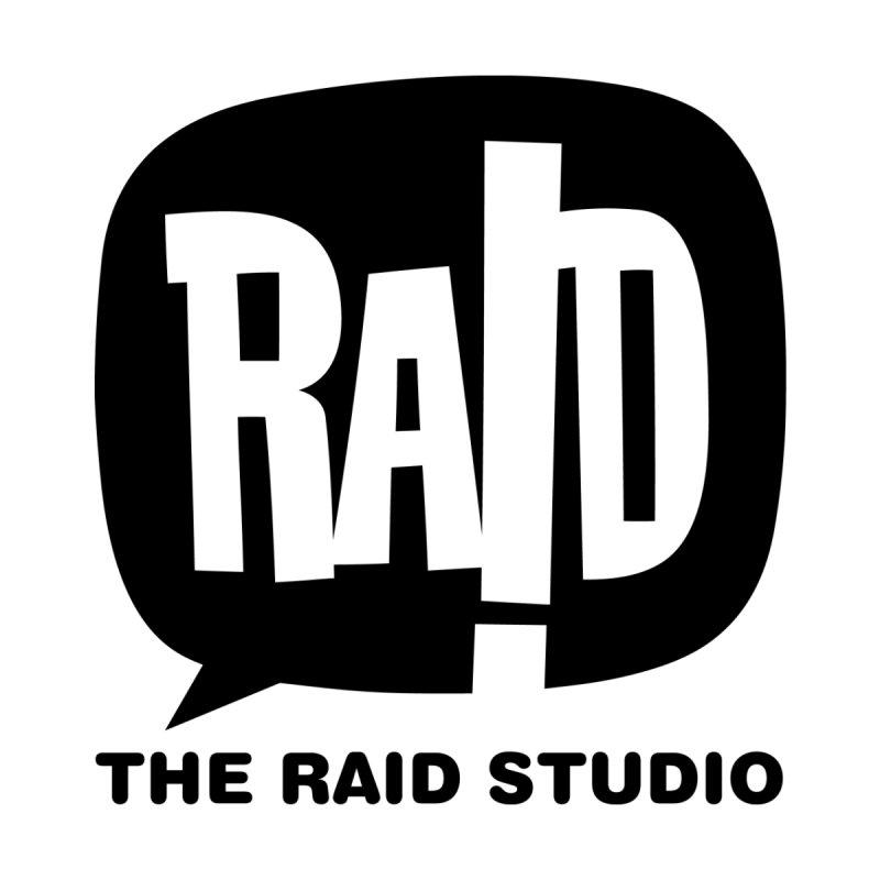 The RAID Studio / white Men's T-Shirt by THE RAID STUDIO