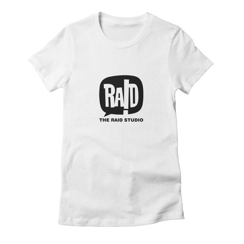 The RAID Studio / white Women's T-Shirt by THE RAID STUDIO