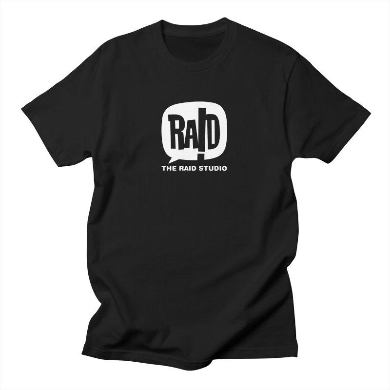 The RAID Studio / black Men's T-Shirt by THE RAID STUDIO