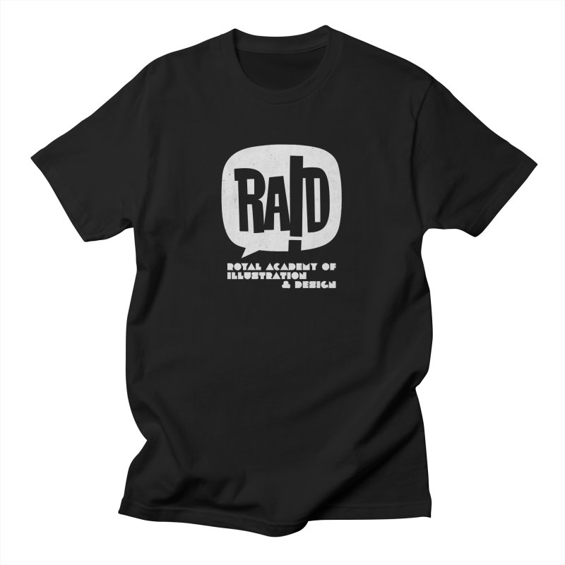 Royal Academy of Illustration & Design + LOGO Men's T-Shirt by THE RAID STUDIO