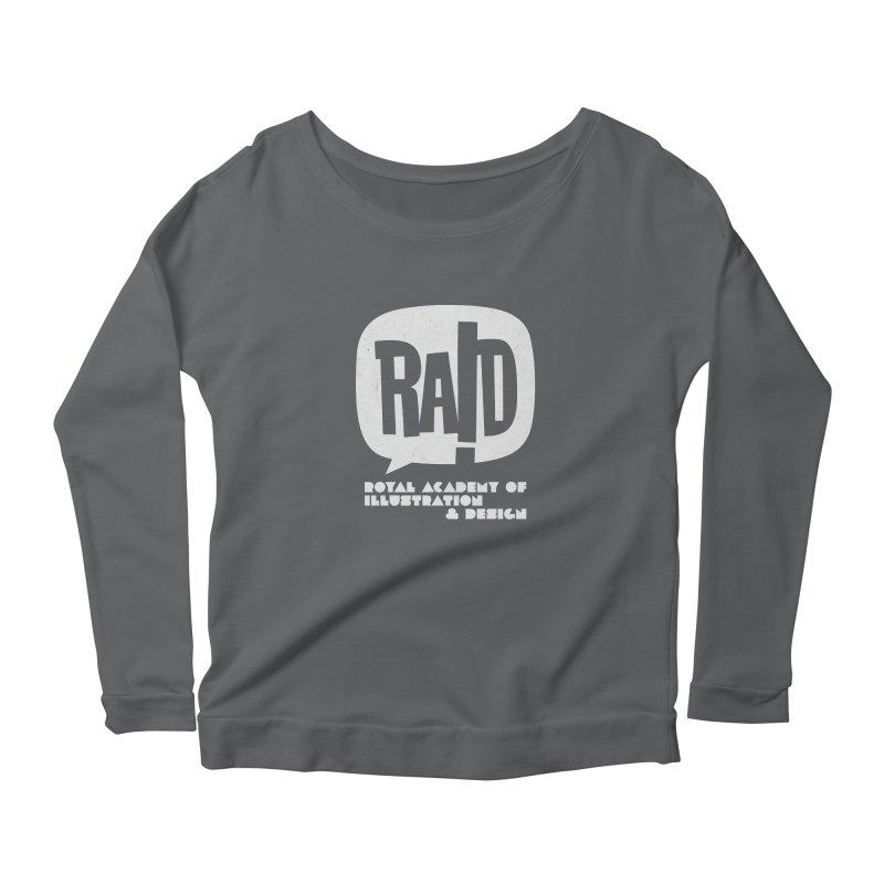 Royal Academy of Illustration & Design + LOGO Women's Longsleeve T-Shirt by THE RAID STUDIO