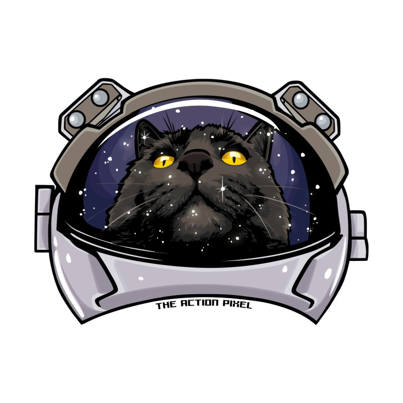 Kitty Cat Cosmos by The Action Pixel Shop