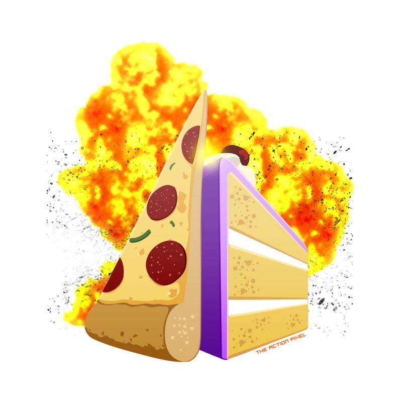 Pizza Cake   by The Action Pixel Shop