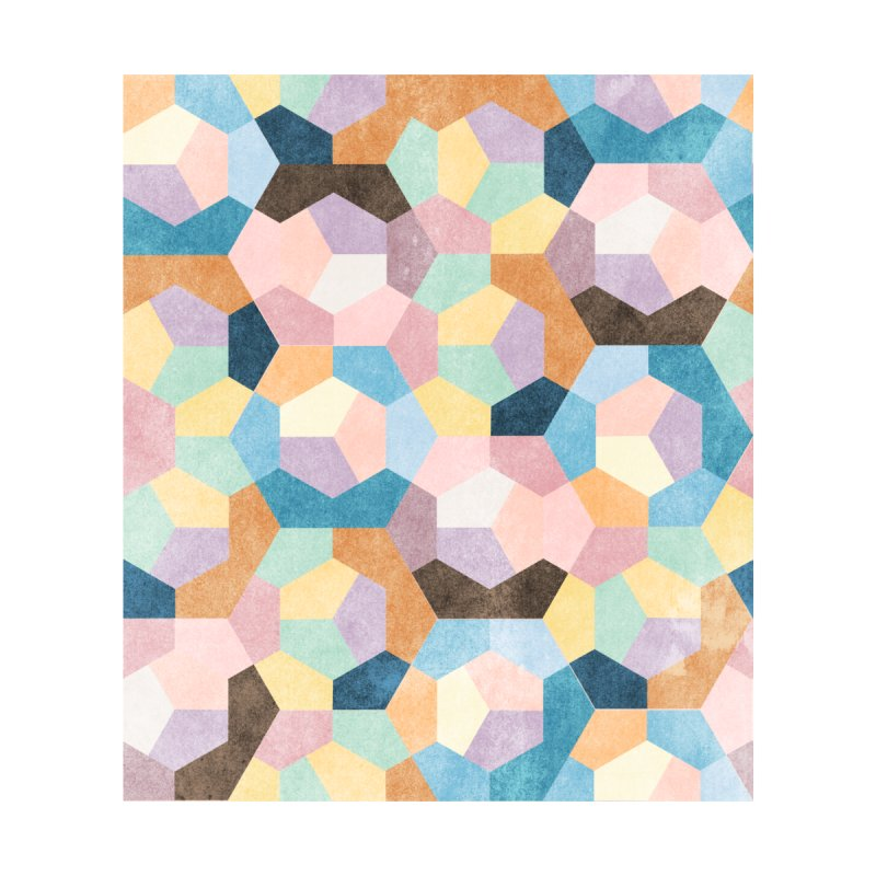 Honeycomb Pastels #001 by The Action Pixel Shop