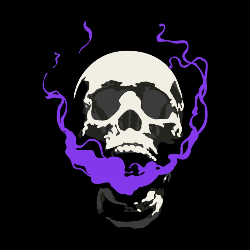 Smoking Skull  by The Action Pixel Shop