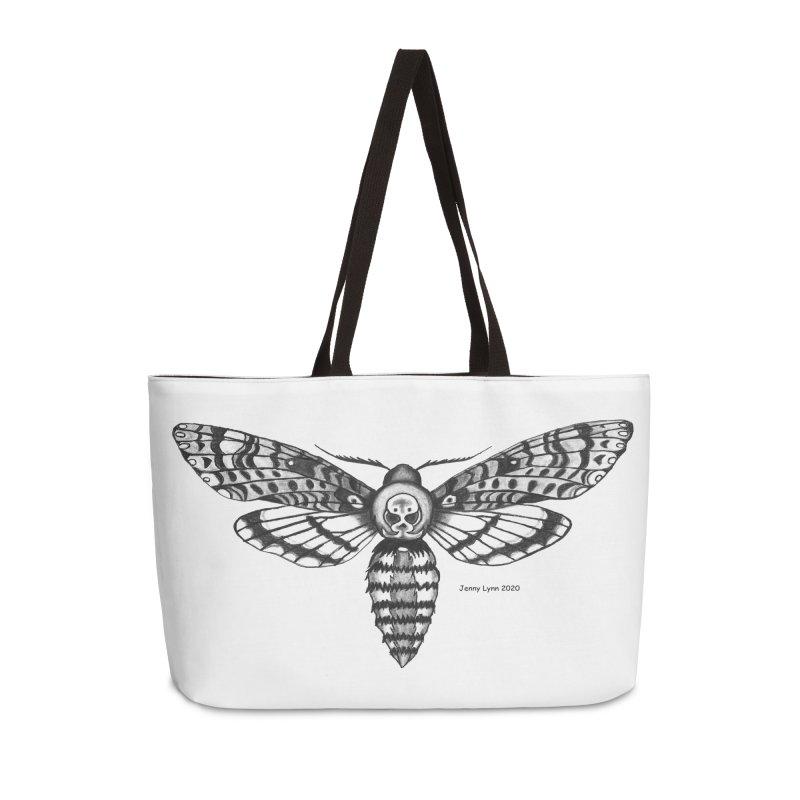Deaths Head Moth Accessories Bag by artfulworldofjennylynn's Artist Shop