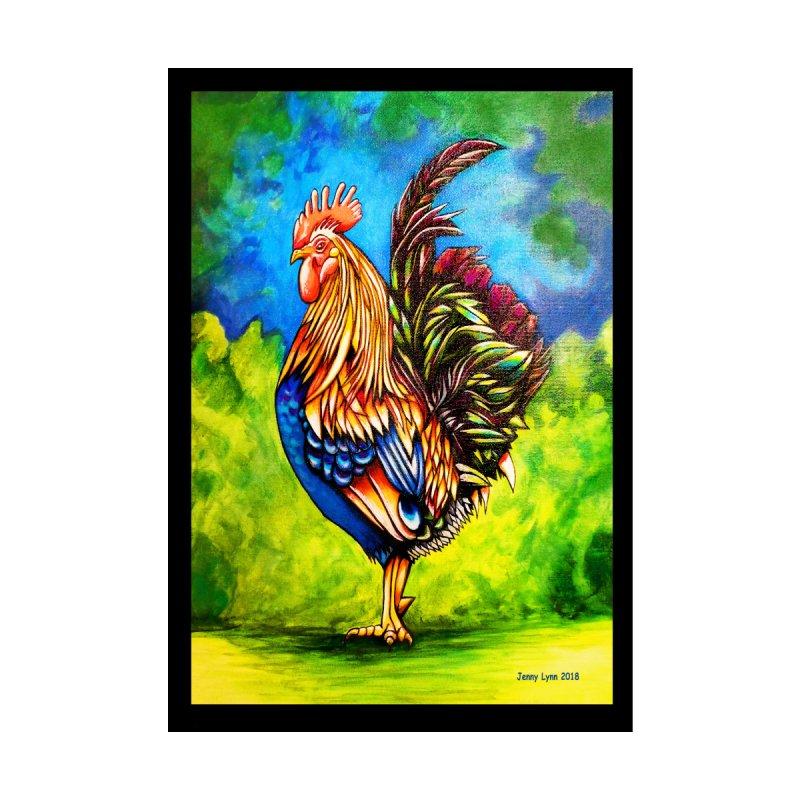 Rooster Home Fine Art Print by artfulworldofjennylynn's Artist Shop