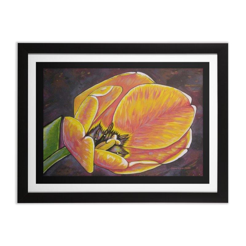 Tulip Home Framed Fine Art Print by artfulworldofjennylynn's Artist Shop