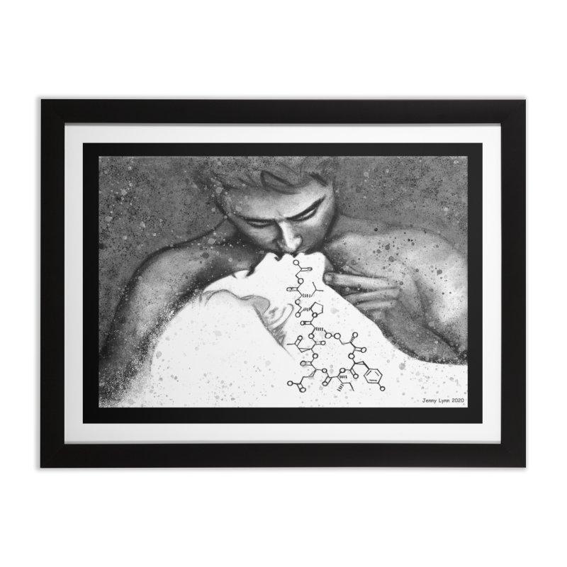 """Chemicals"" Home Framed Fine Art Print by artfulworldofjennylynn's Artist Shop"