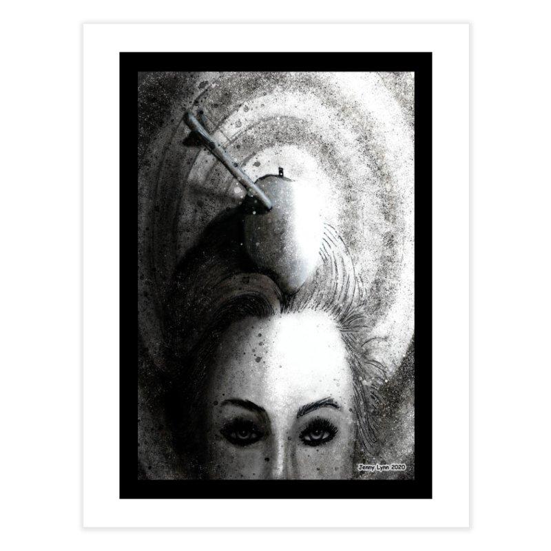 """Bullseye"" Home Fine Art Print by artfulworldofjennylynn's Artist Shop"