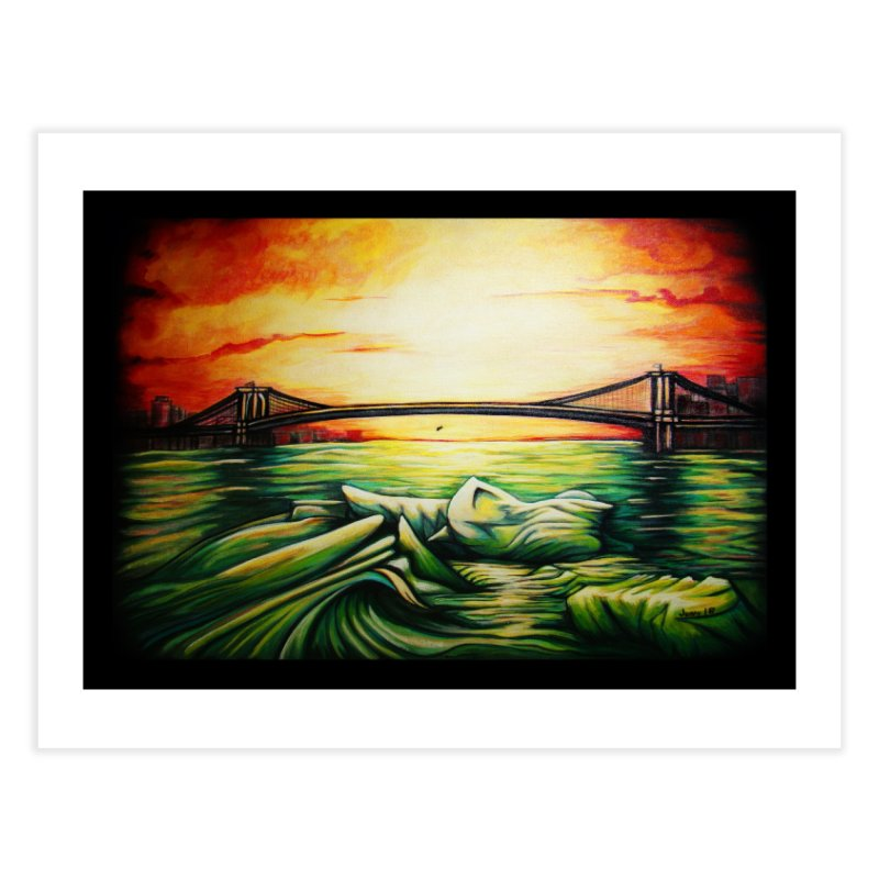 """Sinking"" Home Fine Art Print by artfulworldofjennylynn's Artist Shop"