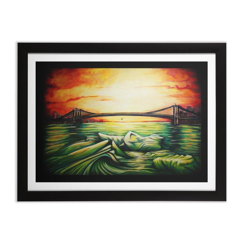 """Sinking"" Home Framed Fine Art Print by artfulworldofjennylynn's Artist Shop"