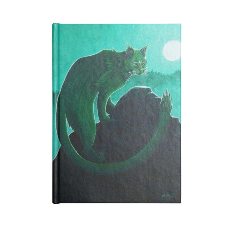 Cactus Cat (Square Art) Accessories Notebook by artfulworldofjennylynn's Artist Shop
