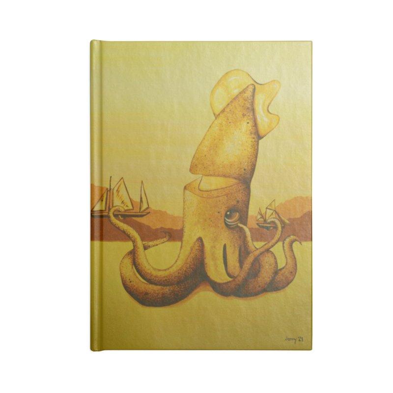 Kraken Accessories Notebook by artfulworldofjennylynn's Artist Shop