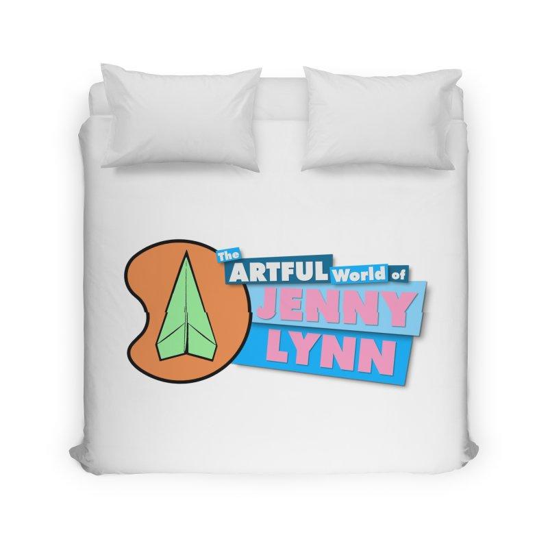 The ARTFUL World of JENNY LYNN Season 2 Logo Merchandise Home Duvet by artfulworldofjennylynn's Artist Shop