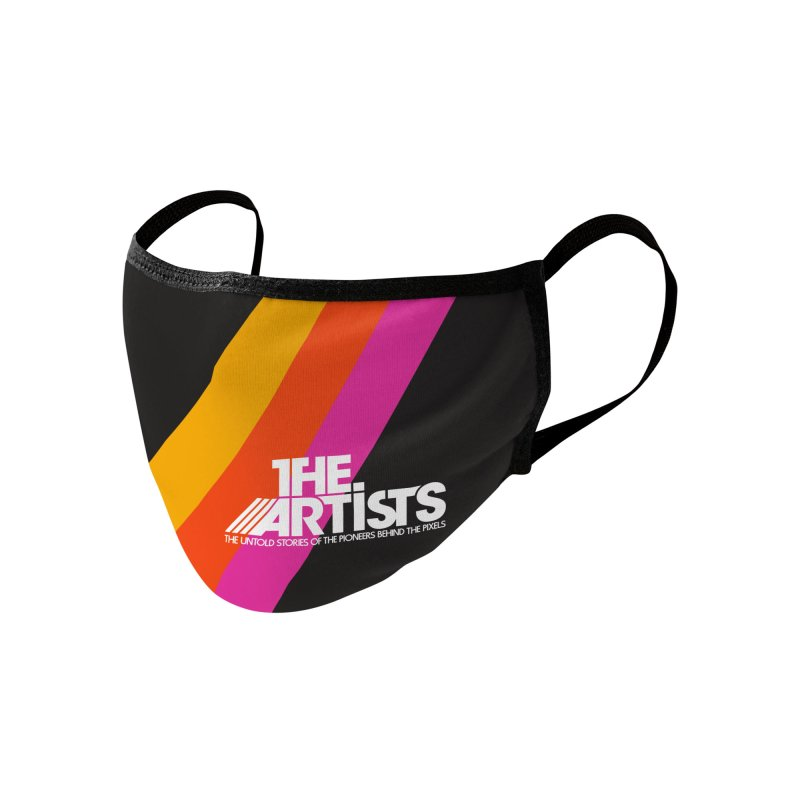 Artists Crossing the Line Accessories Face Mask by The Artists