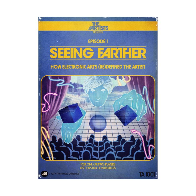 Box Art Apparel Series: Seeing Farther by The Artists
