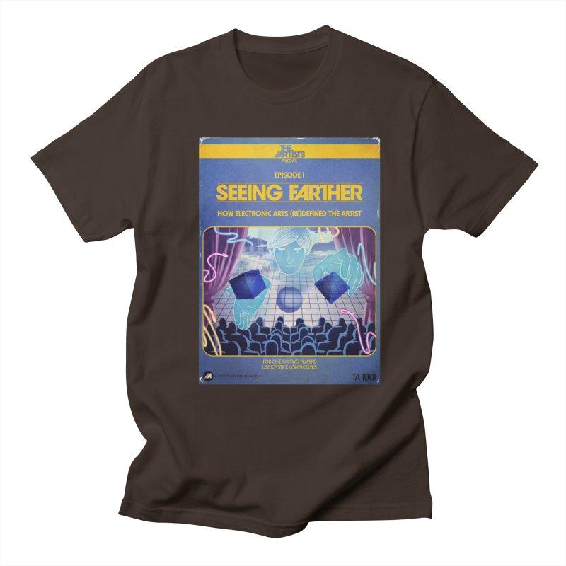 Box Art Apparel Series: Seeing Farther Men's Regular T-Shirt by The Artists
