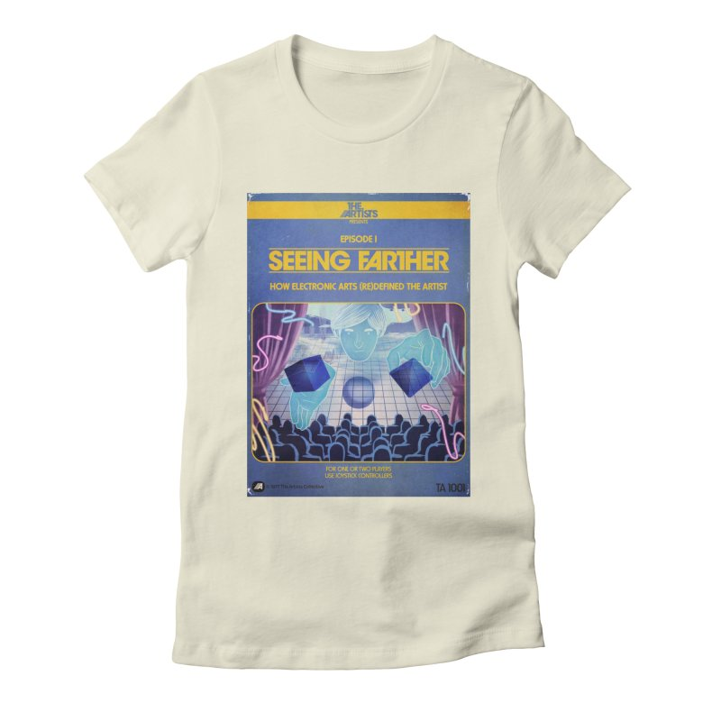 Box Art Apparel Series: Seeing Farther Women's Fitted T-Shirt by The Artists