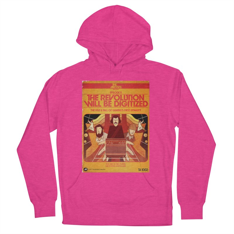 Box Art Apparel Series: The Revolution will be Digitized Women's French Terry Pullover Hoody by The Artists