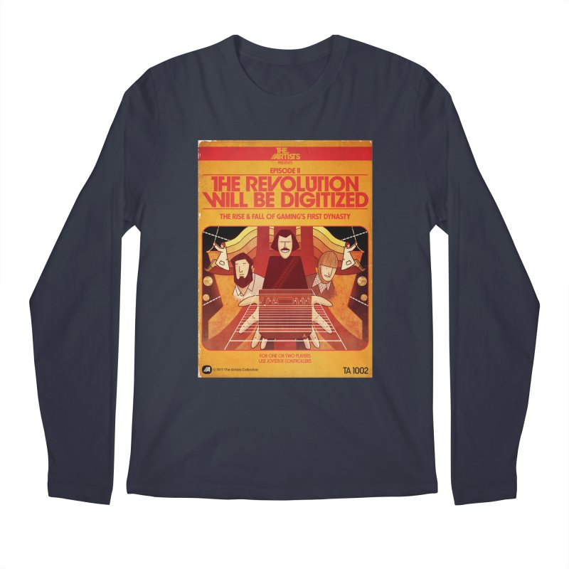 Box Art Apparel Series: The Revolution will be Digitized Men's Regular Longsleeve T-Shirt by The Artists