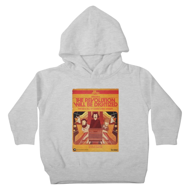 Box Art Apparel Series: The Revolution will be Digitized Kids Toddler Pullover Hoody by The Artists