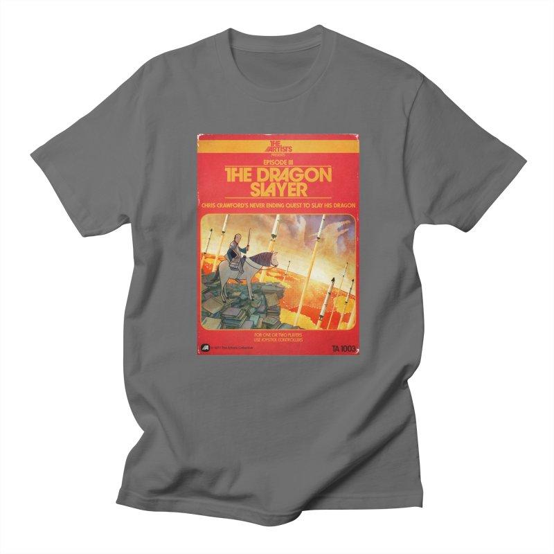 Box Art Apparel Series: The Dragon Slayer Men's T-Shirt by The Artists