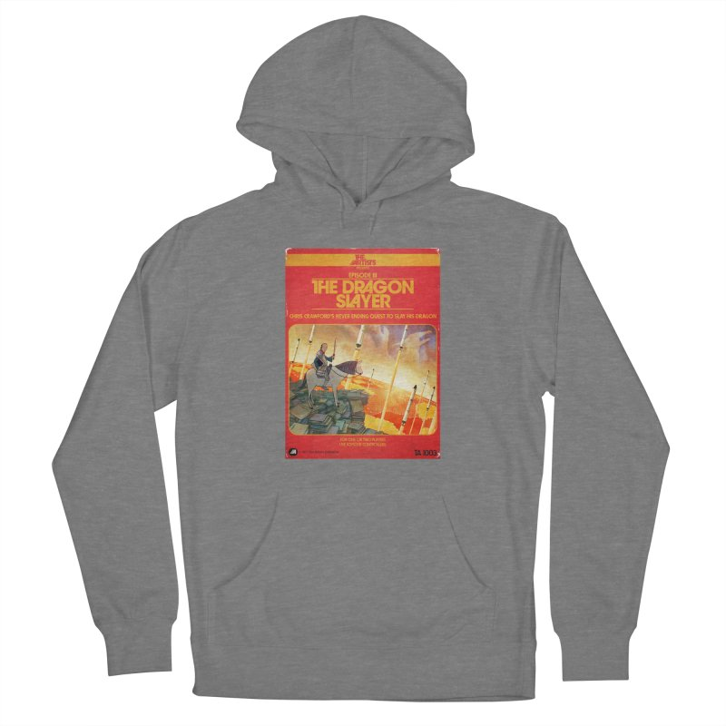 Box Art Apparel Series: The Dragon Slayer Women's Pullover Hoody by The Artists