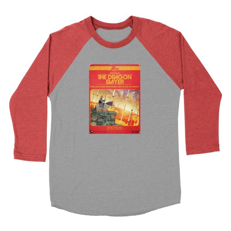 Box Art Apparel Series: The Dragon Slayer Men's Longsleeve T-Shirt by The Artists