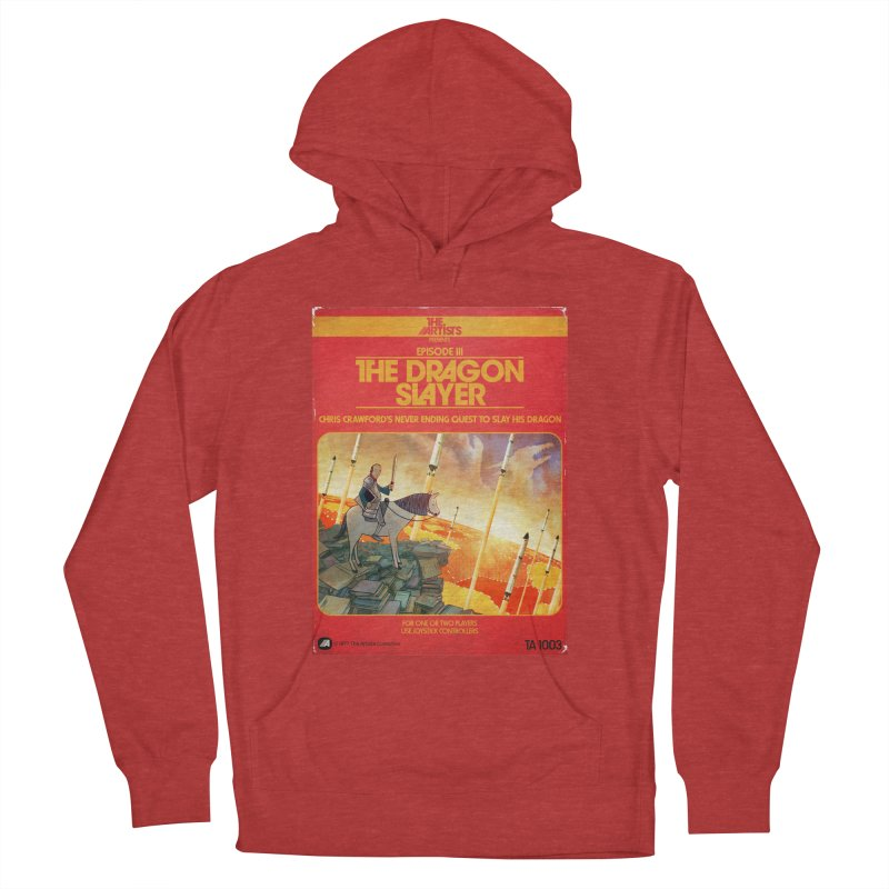 Box Art Apparel Series: The Dragon Slayer Men's French Terry Pullover Hoody by The Artists