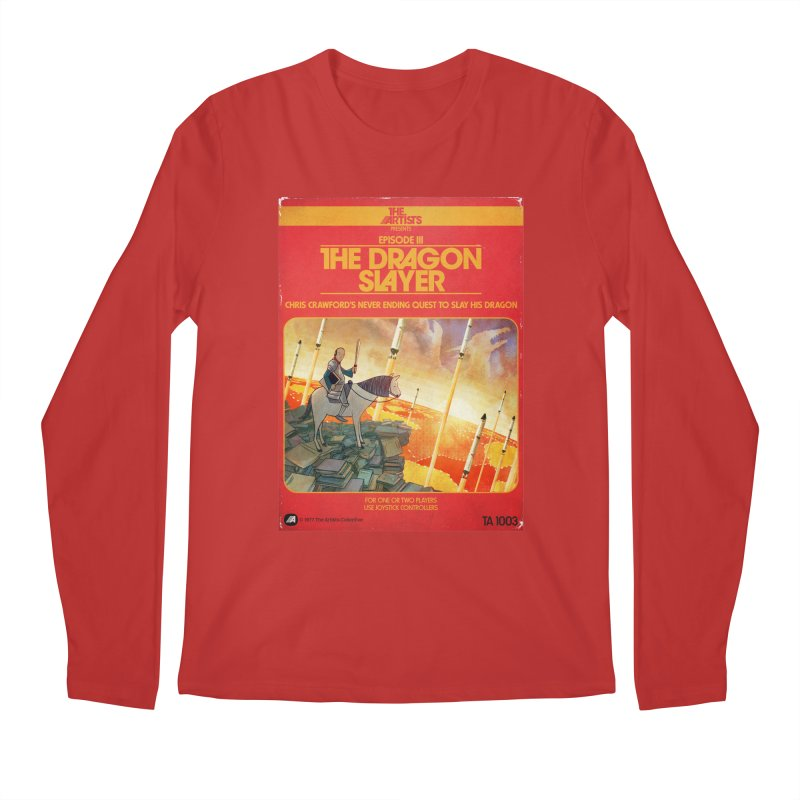 Box Art Apparel Series: The Dragon Slayer Men's Regular Longsleeve T-Shirt by The Artists