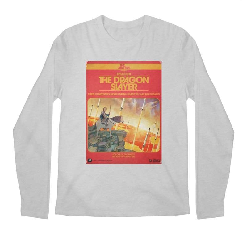 Box Art Apparel Series: The Dragon Slayer Men's Regular Longsleeve T-Shirt by The Artists