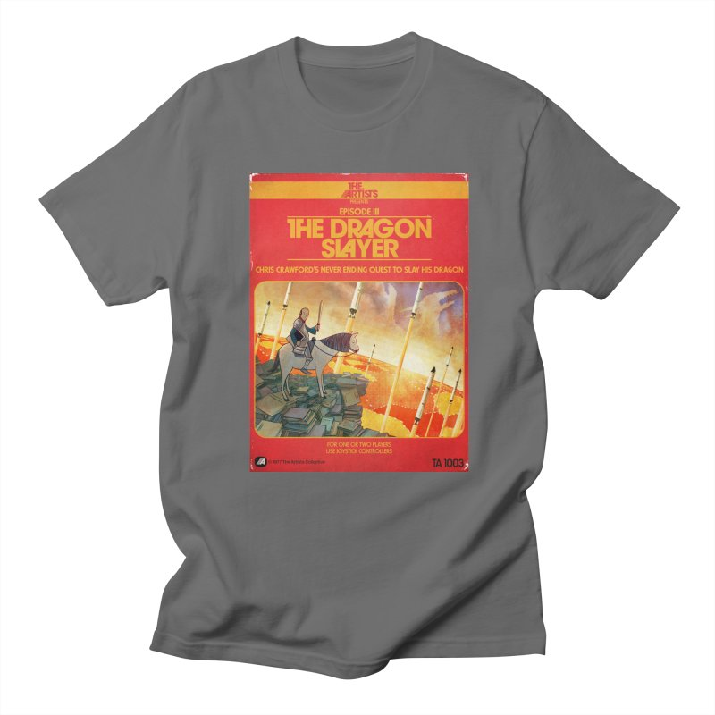 Box Art Apparel Series: The Dragon Slayer Men's T-Shirt by The Artists