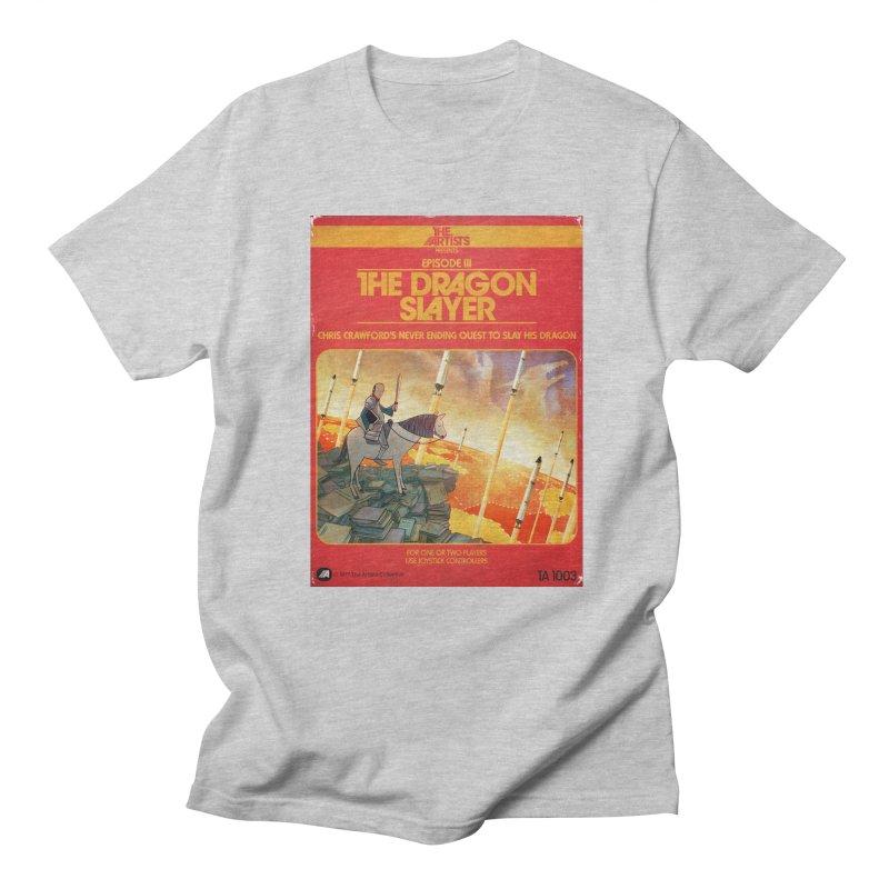 Box Art Apparel Series: The Dragon Slayer Men's Regular T-Shirt by The Artists