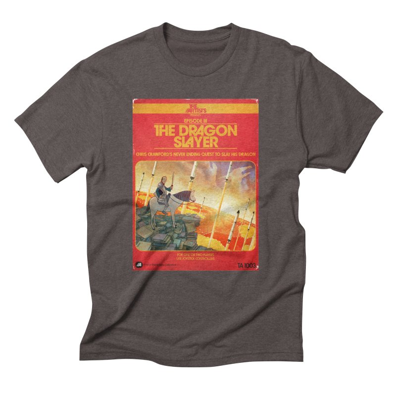 Box Art Apparel Series: The Dragon Slayer Men's  by The Artists