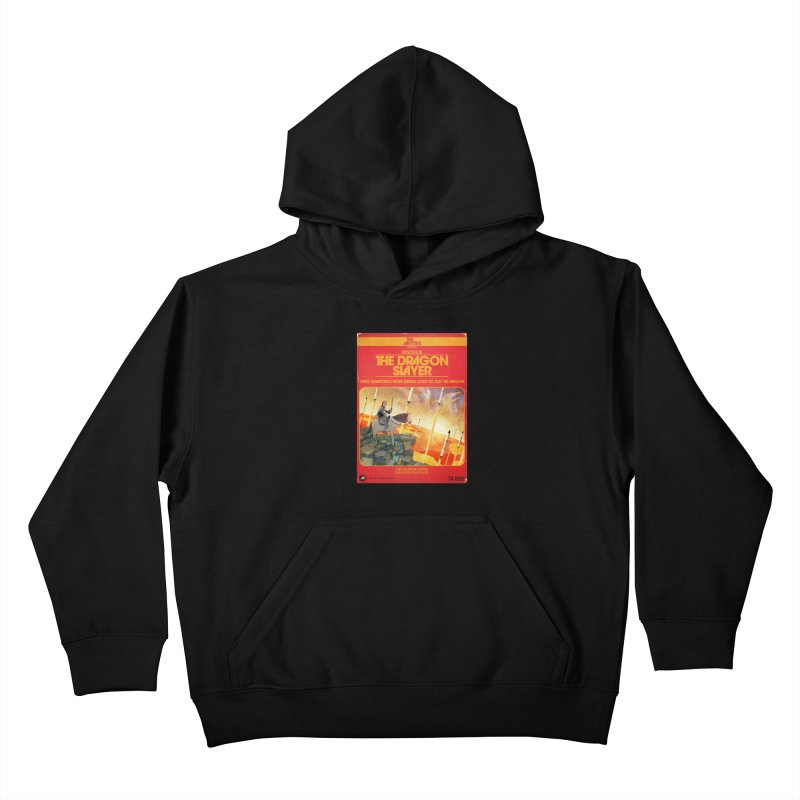 Box Art Apparel Series: The Dragon Slayer Kids Pullover Hoody by The Artists
