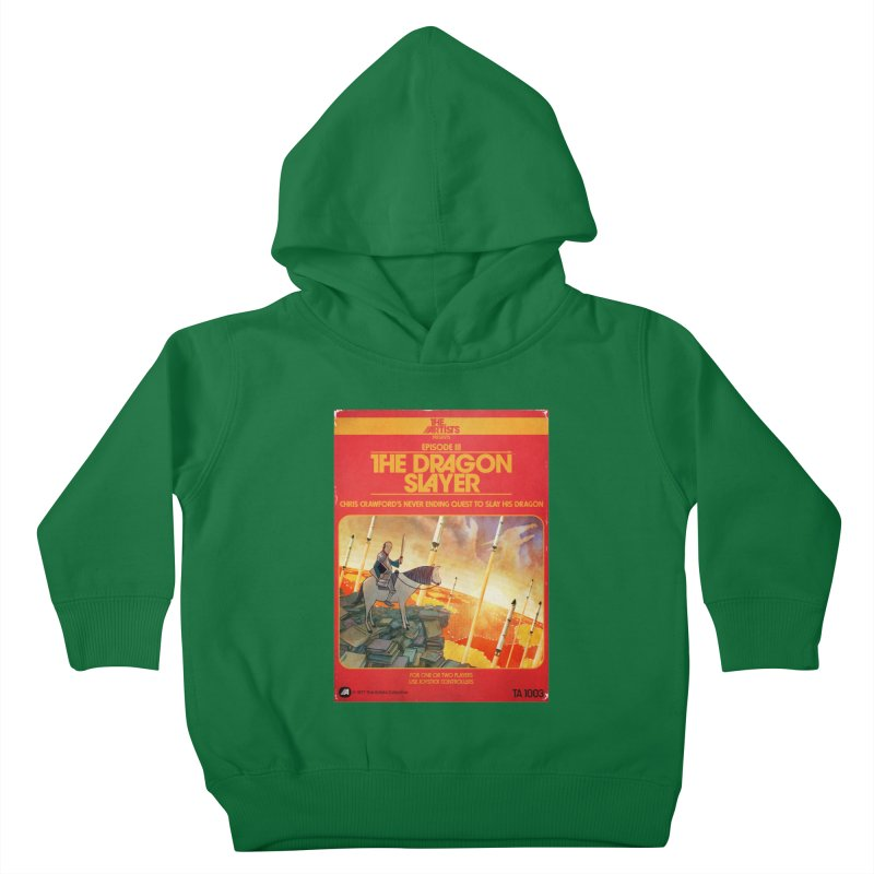 Box Art Apparel Series: The Dragon Slayer Kids Toddler Pullover Hoody by The Artists
