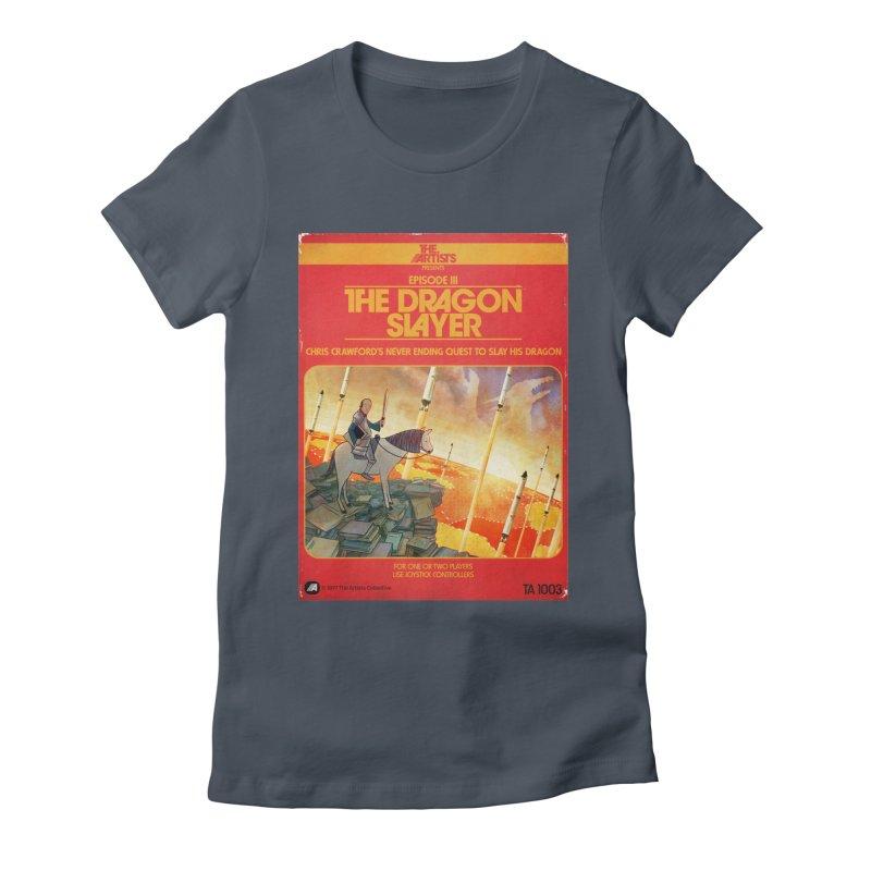 Box Art Apparel Series: The Dragon Slayer Women's T-Shirt by The Artists