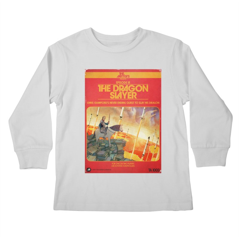 Box Art Apparel Series: The Dragon Slayer Kids  by The Artists