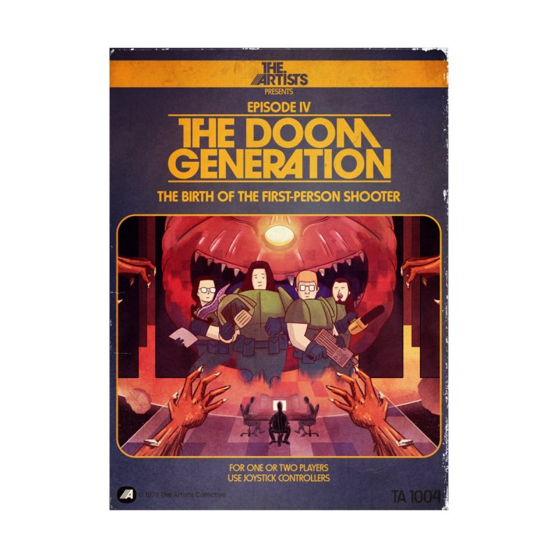 Box Art Apparel Series: The Doom Generation Women's T-Shirt by The Artists