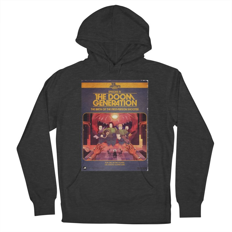 Box Art Apparel Series: The Doom Generation Women's French Terry Pullover Hoody by The Artists