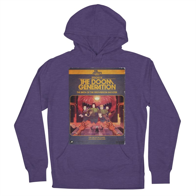 Box Art Apparel Series: The Doom Generation Men's French Terry Pullover Hoody by The Artists